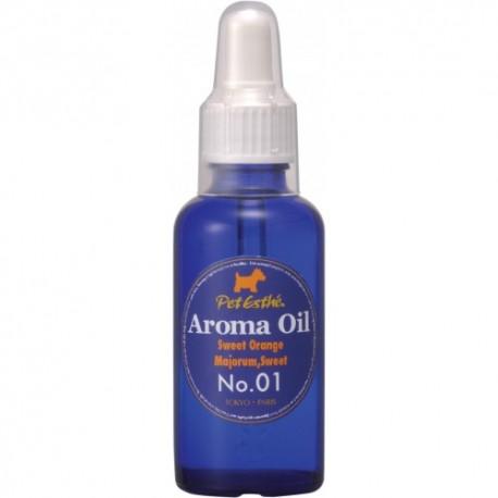 PetEsthé olej č.1 - Sladký pomeranč & Majoránka 50 ml
